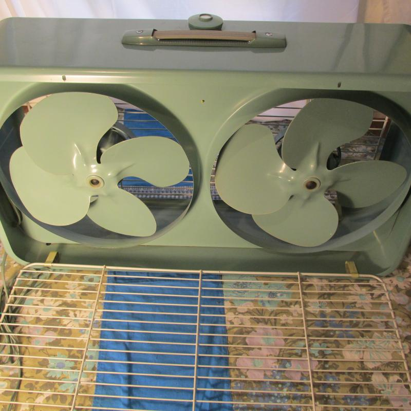 For your viewing pleasure is a very nice all original circa 1960 General Electric 12 inch 3 speed window fan. Twin window fans were all the rage in the ... & WiskeyLizard and Co. - All Original Aboutintivar.Com